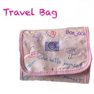 Other - Pink Travel Bag w/Detachable Organizers